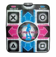 Танцевальный коврик для подключения к телевизору или компьютеру X-Tteme Dance Pad Platinum оригинальный