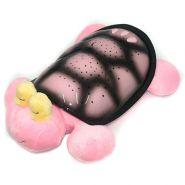 """Музыкальный ночник проектор """"Морская черепаха"""" большая, USB (цвета: розовый/синий)"""