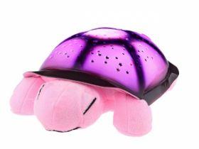 """Музыкальный ночник проектор """"Морская черепаха"""" стандарт (цвета: розовый/синий/хаки)"""